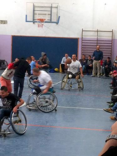 Handicapped Basketball