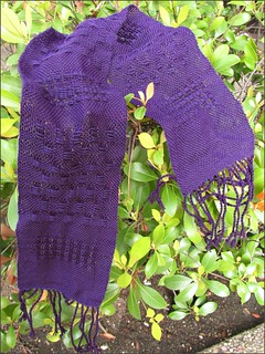 Weaving Class: Lacy Scarf 2