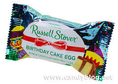 Russell Stover Birthday Cake Egg