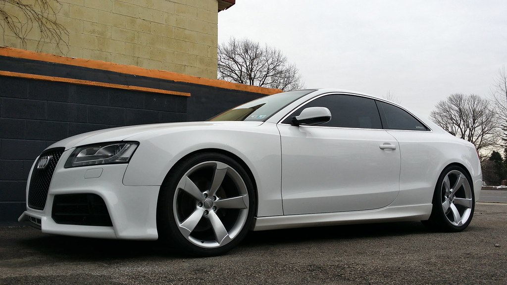 With Rs5 Silver Rotors On Audi A5 Forum Amp Audi S5 Forum