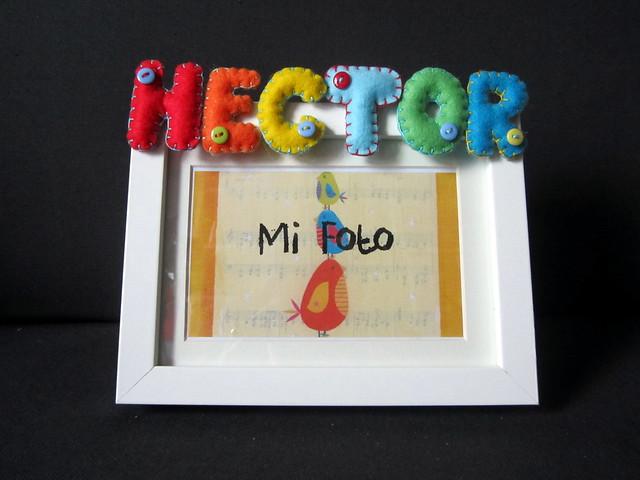 Marco de fotos personalizado - Hector