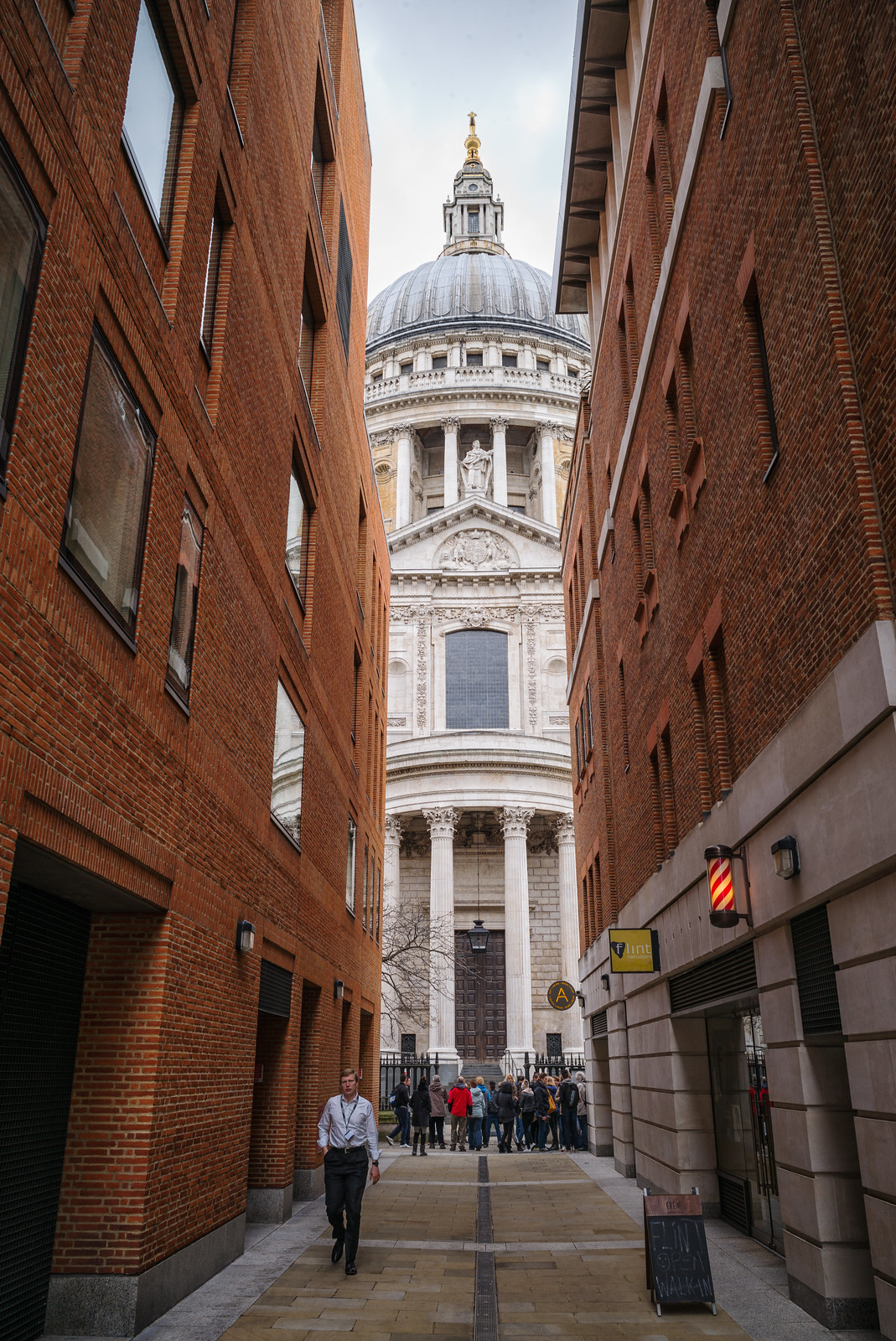 Sliver of St Paul's