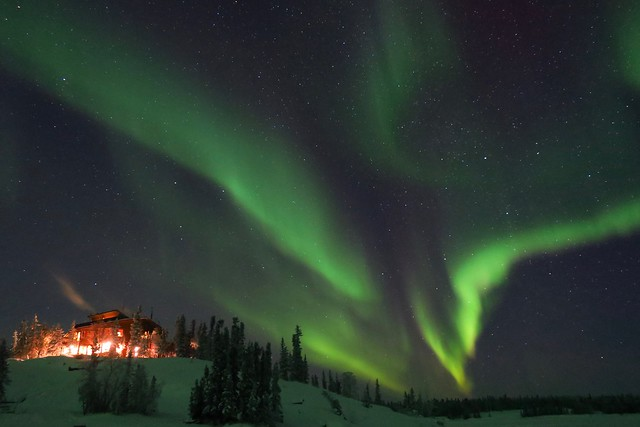 Aurora - Blachford Lake Lodge