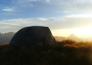 Sunset Camping