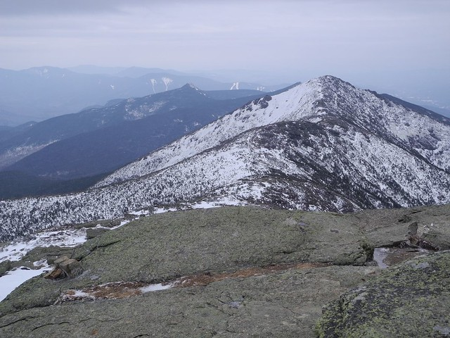 Mt Lincoln from Mt. Lafayette