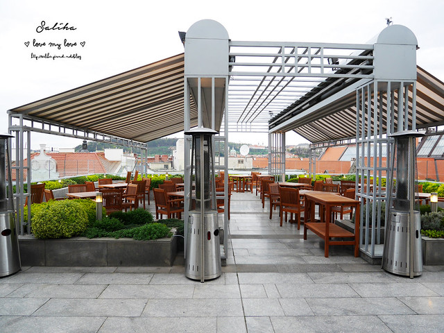 布拉格夜景景觀餐廳推薦洲際酒店晚餐 (13)