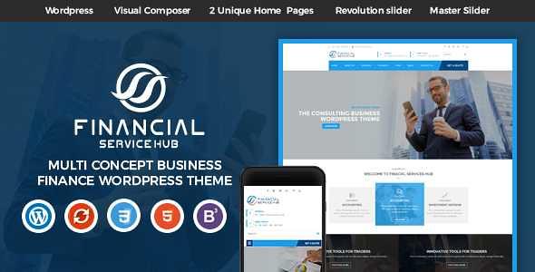 Business Hub WordPress Theme free download