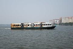 Prom na trasie Ernakulam - Kochi