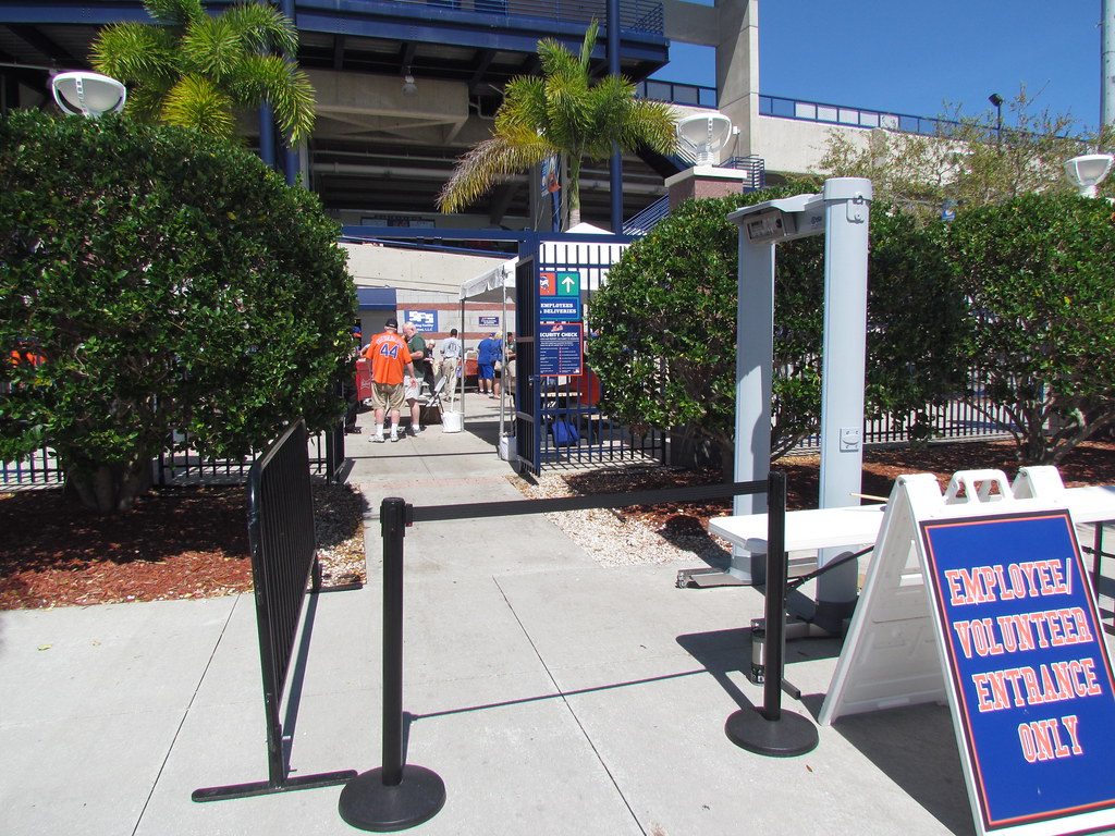 Employee Entrance at First Data Field -- Port St  Lucie, F