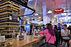 Wexler's Deli - Grand Central Market, Eyes Are Upon Her!