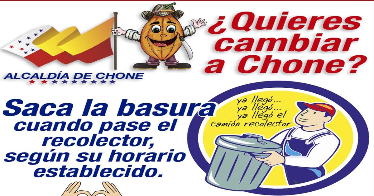 Campaña sobre recolección de la basura llama a la concienciación ciudadana