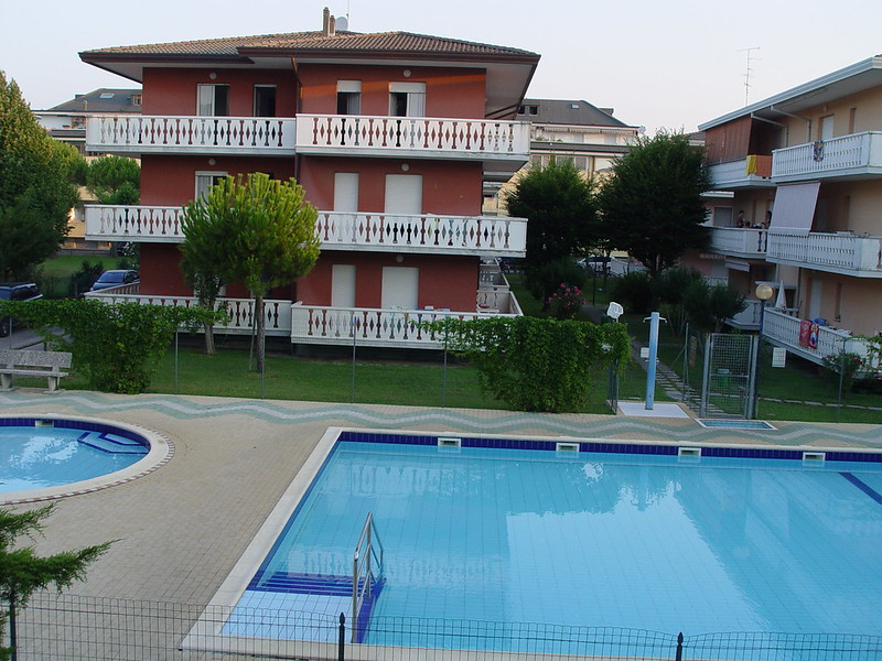 pool, apartments