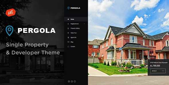 Pergola WordPress Theme free download