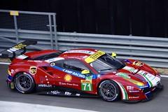 AF Corse's Ferrari 488 GTE Driven by Davide Rigon and Sam Bird