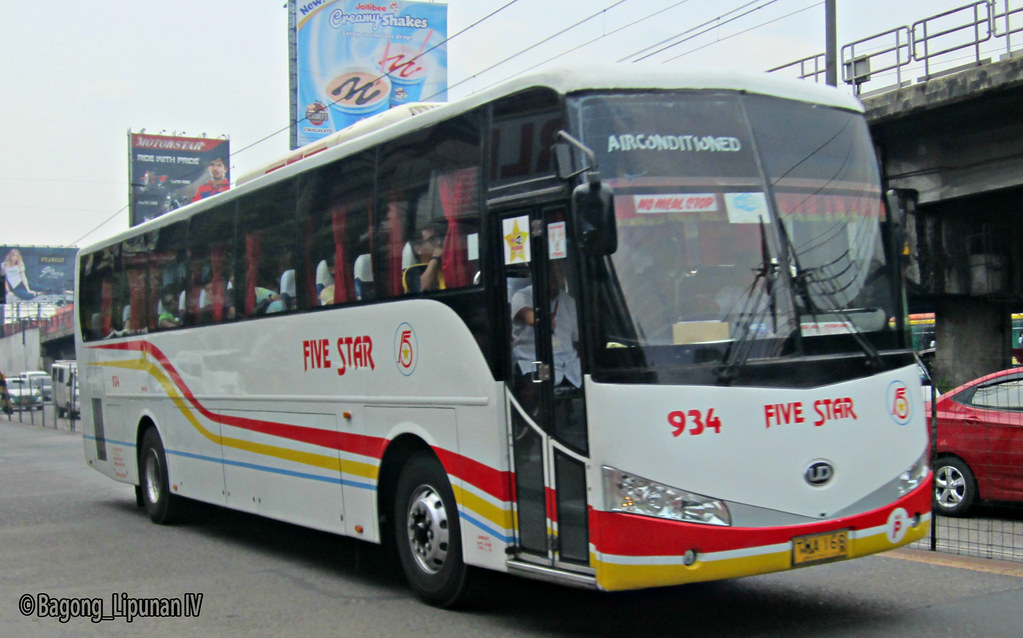 50th Pangasinan Five Star Bus Company 934 Five Star Bus Flickr