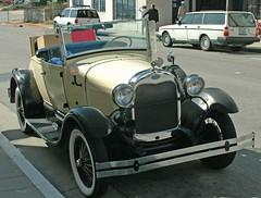 Ford Model A Shay replica rental car