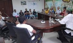 Alcalde de Chone brindó audiencia a dirigentes comunitarios