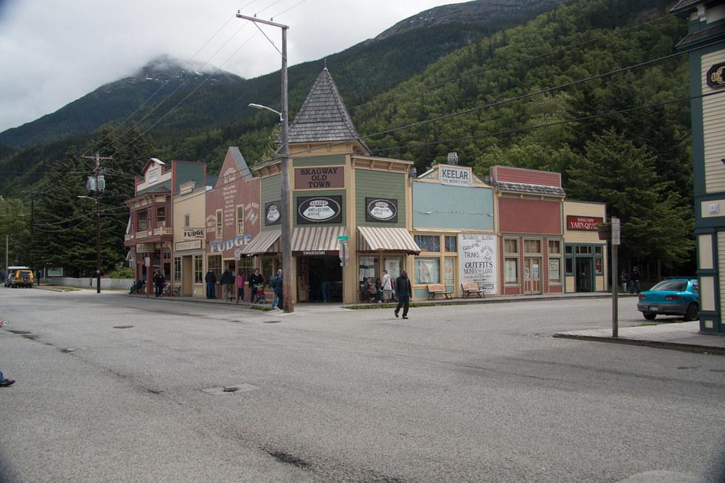 Downtown Skagway Alaska