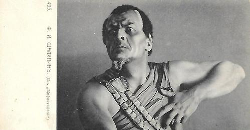 Feodor Chaliapin as Mephisto
