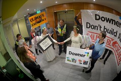 DownerEDI occupation to Stop Adani 01