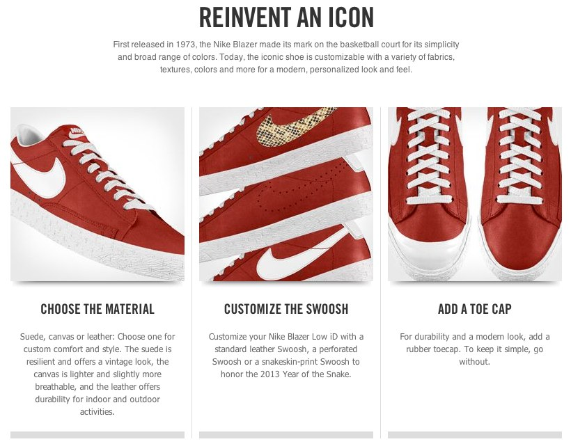 Nike Store. Nike Blazer Low iD Shoe
