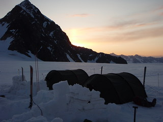 Camping high in the Chugach