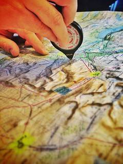 Mapping out the Kungsleden trail