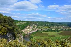 La panorama de la Dordogne