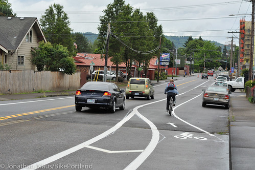 New bike lanes on Skidmore-5