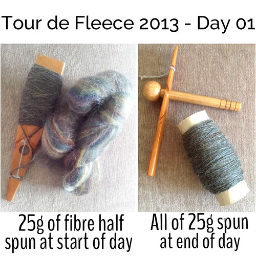 Tour de Fleece 2013 - Day 01