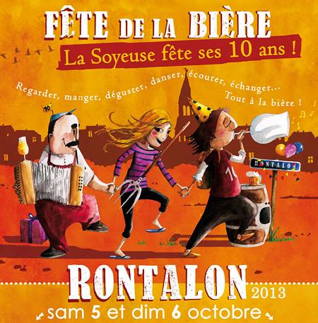 Affiche 10 ans Brasserie La Soyeuse