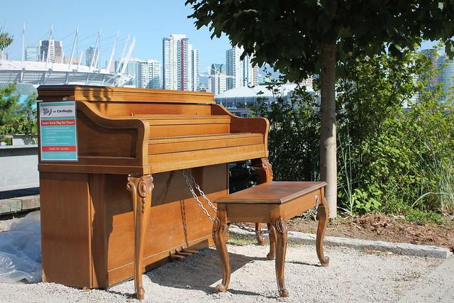 Public Piano near Olympic Village / Keys to the Street