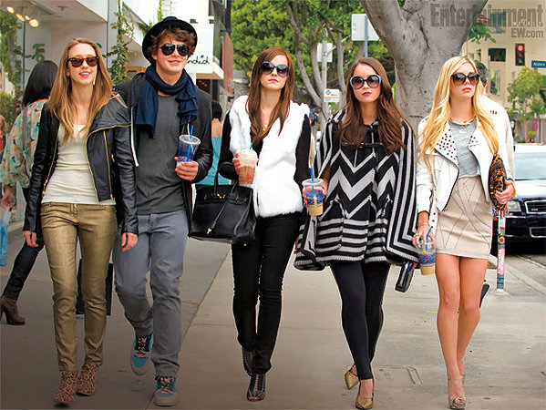Taissa Farmiga, Israel Broussard, Emma Watson, Katie Chang and Claire Julien are THE BLING RING.