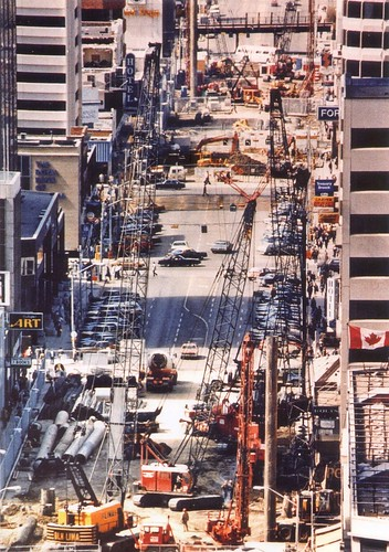 LRT Construction 1980s