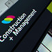 Construction + management logo design