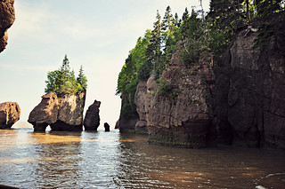 Bay of Fundy - Hopewell Rocks - New Brunswick