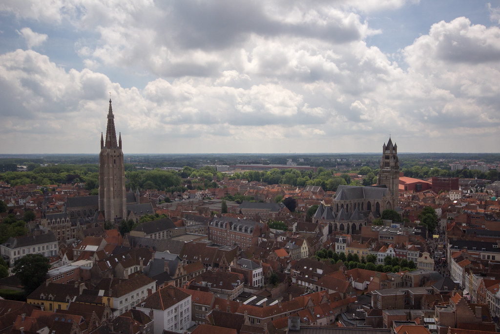 Above Bruges