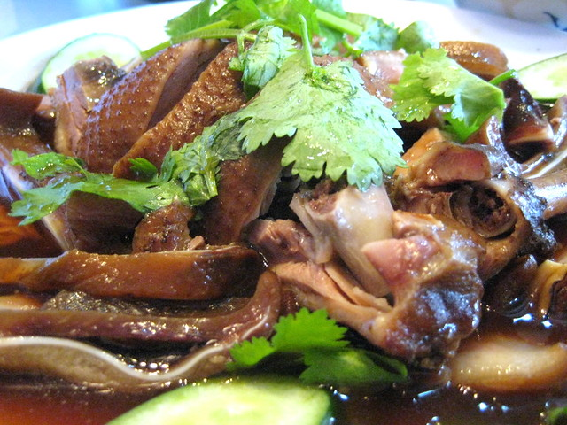 Braised Pig's Ear and Teochew Duck at Teochew Lao Er
