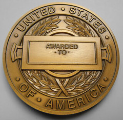 CIA Medal of Merit reverse