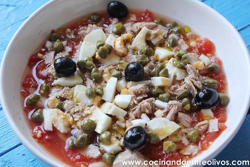 Ensalada murciana www.cocinandoentreolivos (9)