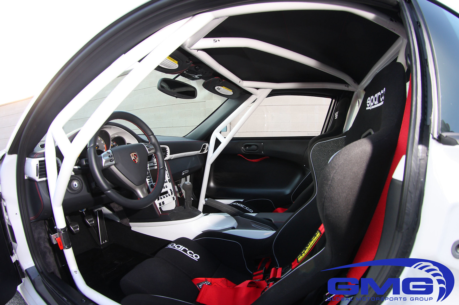 GMG Racing Porsche 997 RSR Bolt-In 6 Point Full Roll Cage ...