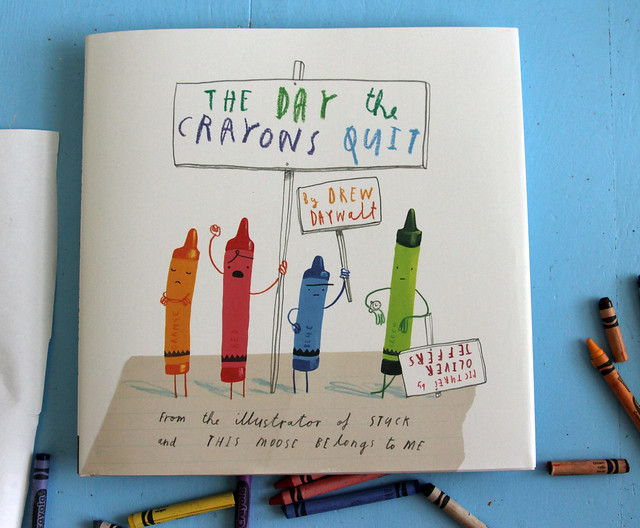 Art Inspiration: The Day the Crayons Quit