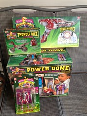 Mighty Morphin Power Rangers toy haul!