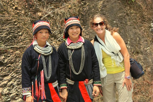 Lina loves these traditional Black Hmong outfits