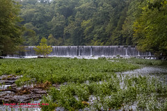 Dam at Old Stone Fort State Park - August 3, 2013