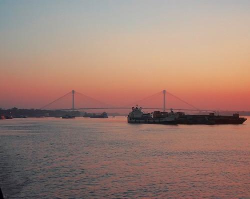 bridge river kolkata vidyasagarsetu