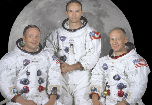 The Apollo 11 Prime Crew from Flickr via Wylio