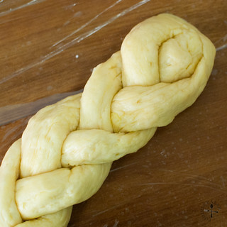 braid the dough