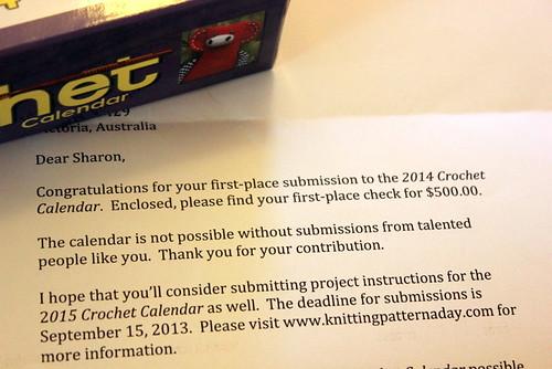 Prize Letter