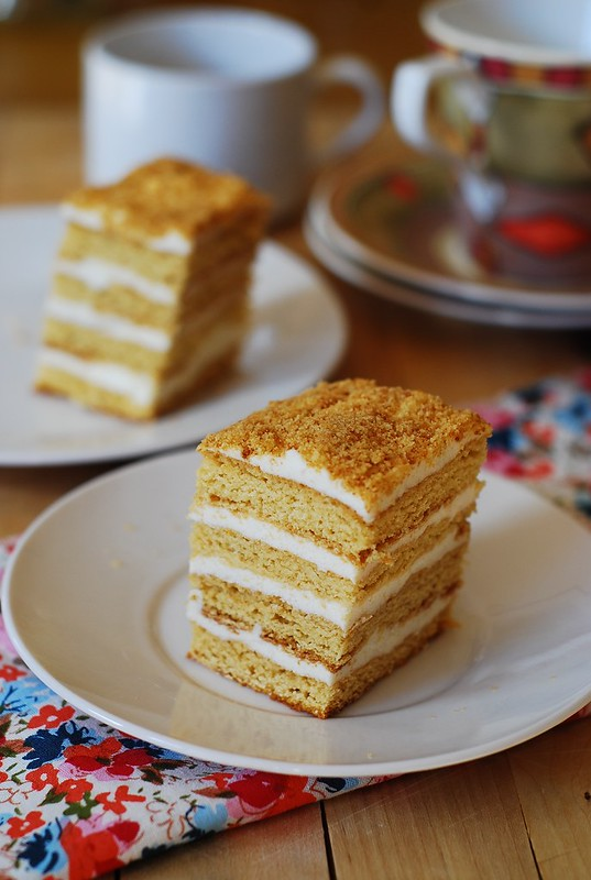 Honey cake - Medovik Tort - торт Медовик